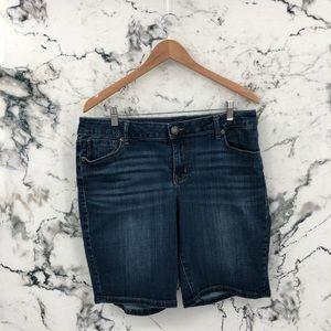 Maurices Bermuda Jean Shorts